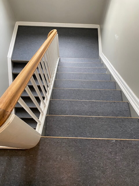 Ny trappebelægning